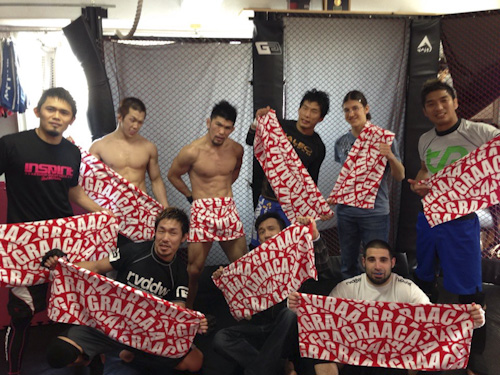 After pro practice with sister school Graaca's towels